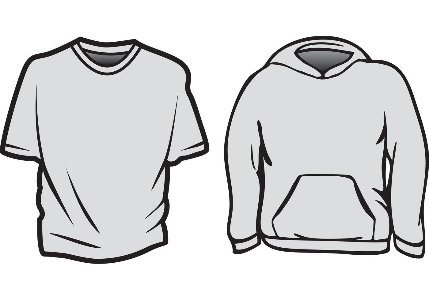hooded sweatshirt template