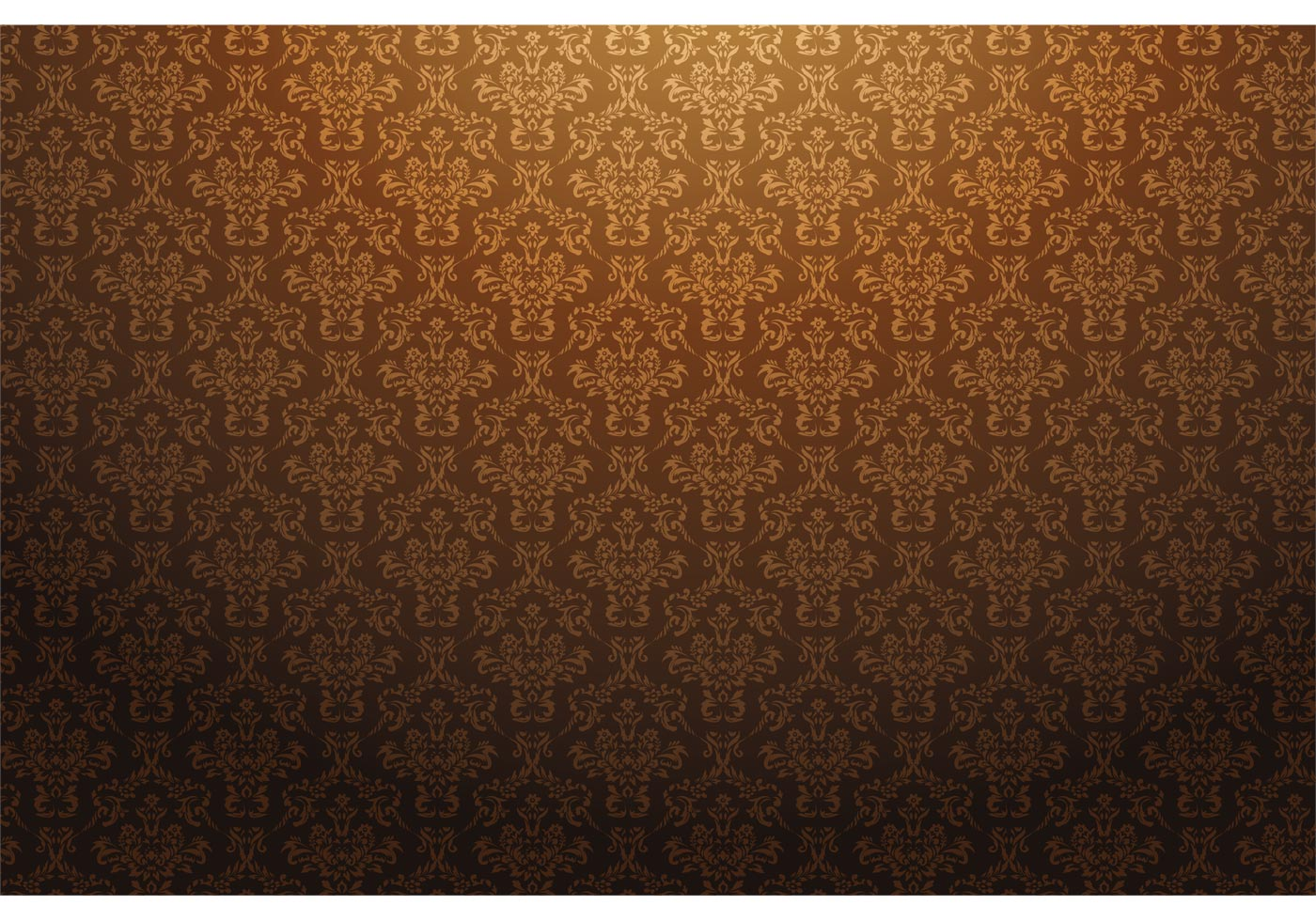 Fall Leaves Watercolor Wallpaper Baroque Seamless Pattern Download Free Vector Art Stock