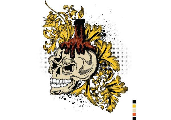 Free Vector T-shirt Design - Art