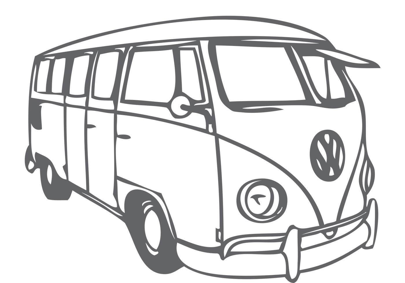 Red Vw Van