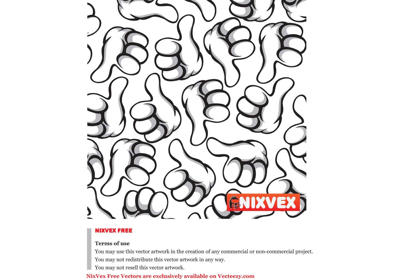 Nixvex Thumbs Up Free Vector