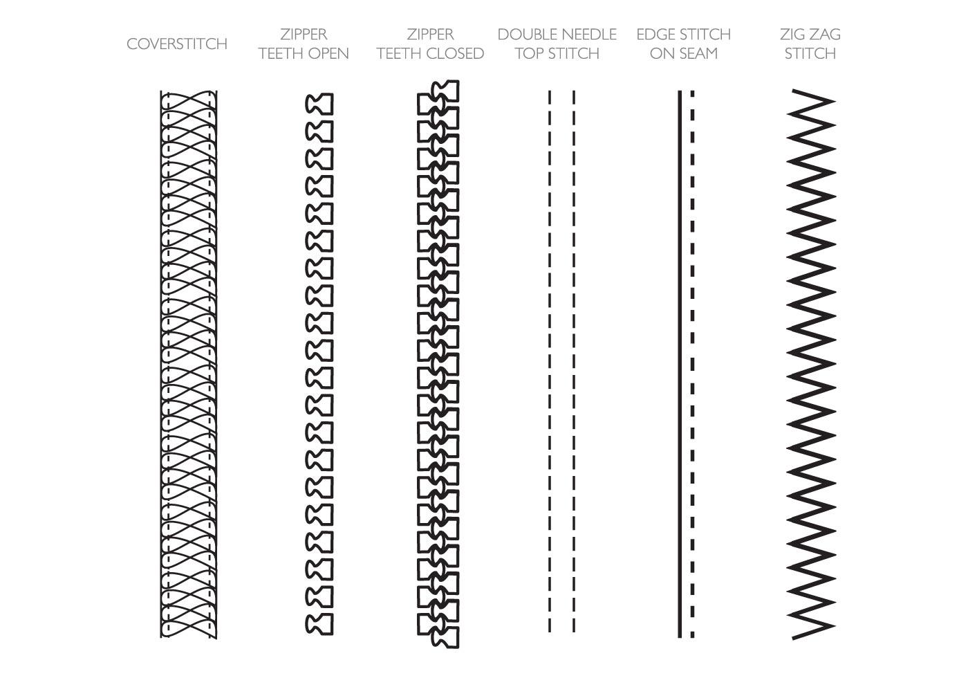 Free Fashion Design Brushes Zippers Amp Stitching