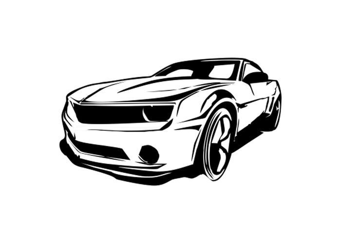 Free Carro Camaro Vector Limpio