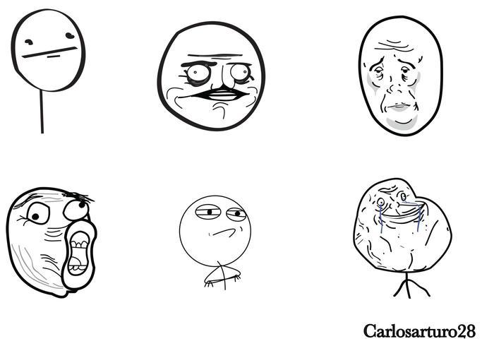 Meme Cartoon Vectors Free Vector Art At Vecteezy