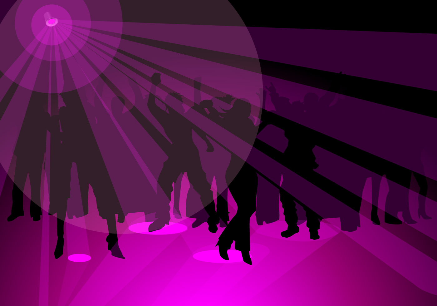 Edm Girl Wallpaper Purple Party Vector Wallpaper Download Free Vectors