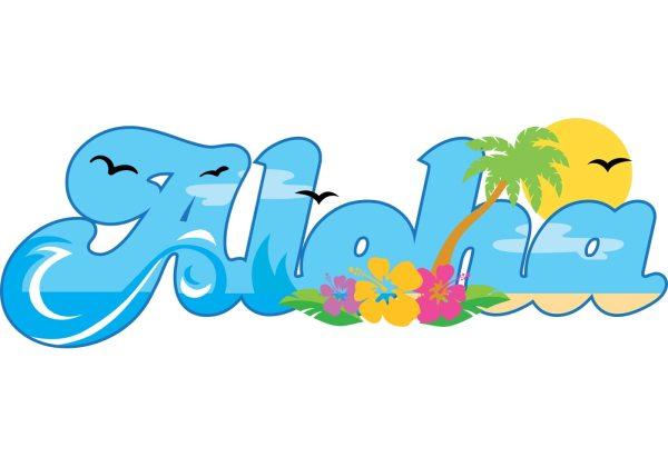 Aloha Hawaii Vector Free Art Vecteezy
