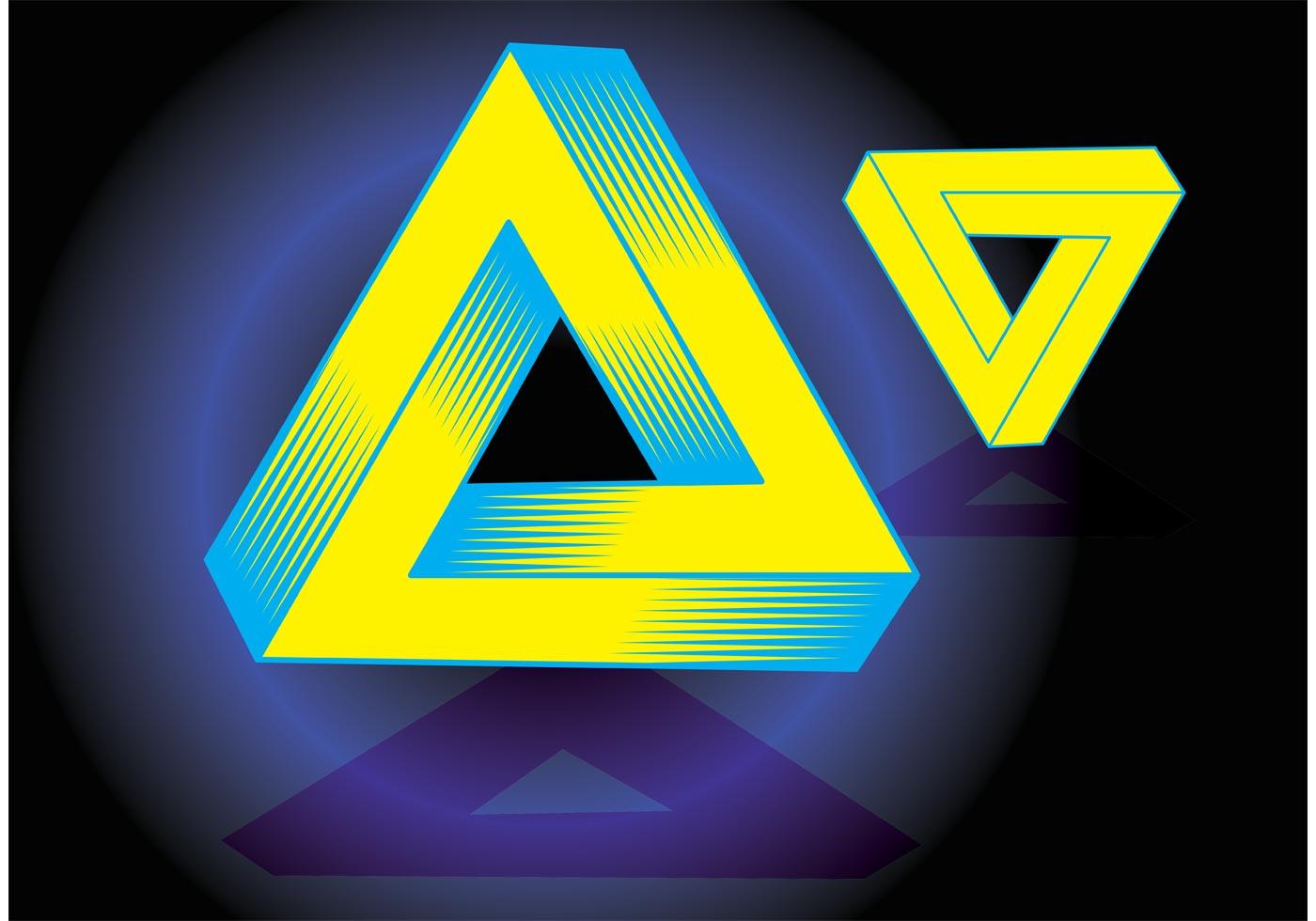 Magic Triangle Vector Download Free Vector Art Stock
