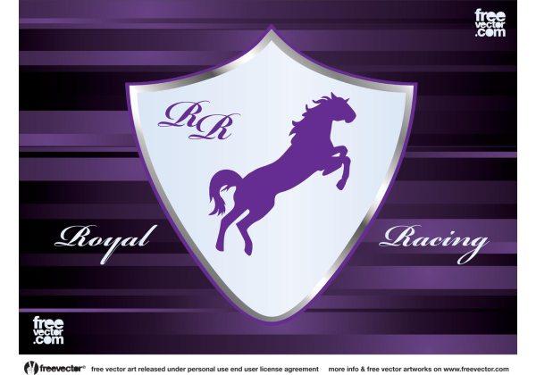 Racing Emblem Vector - Free Art Stock