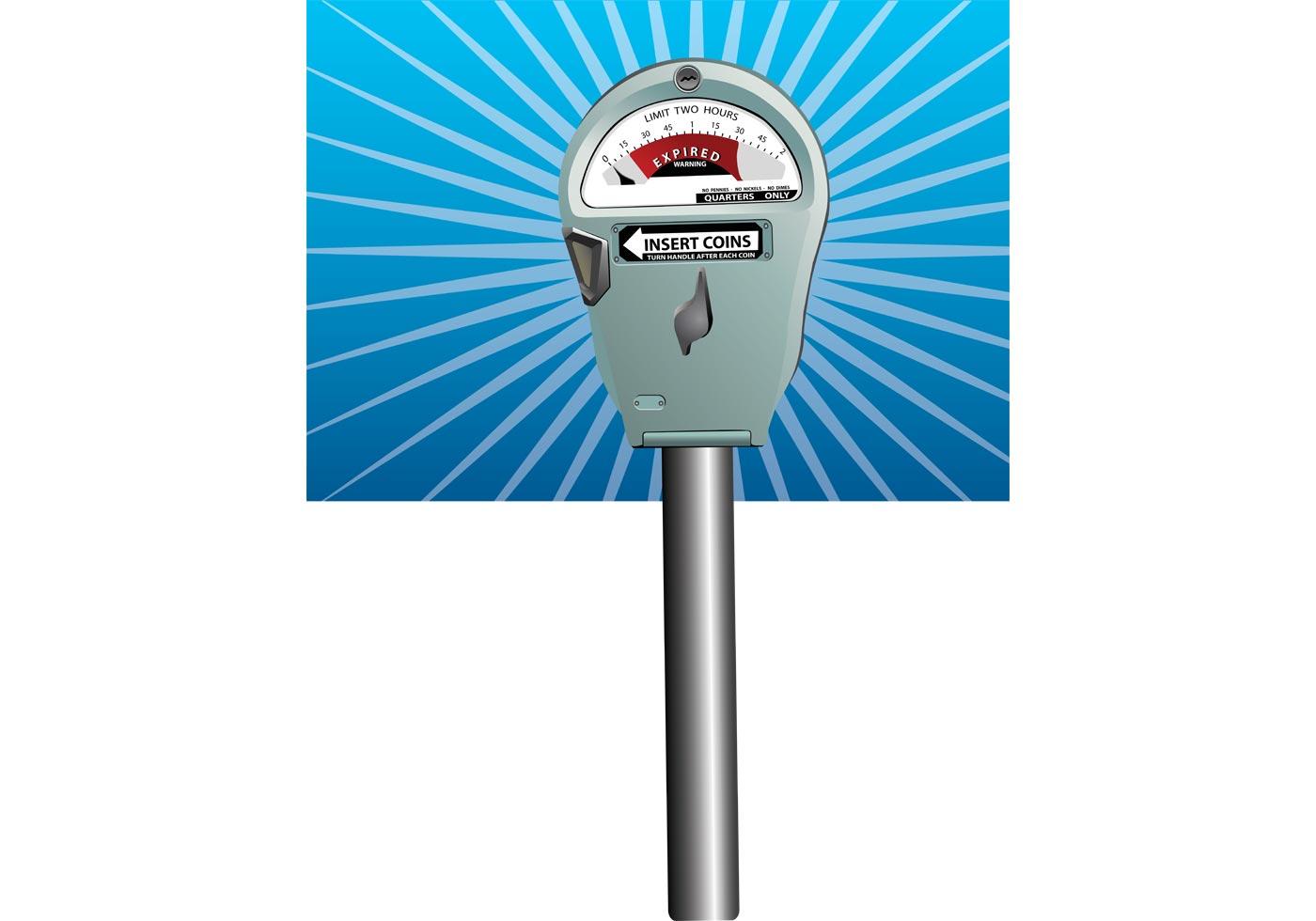 Parking Meter Vector Download Free Vector Art Stock