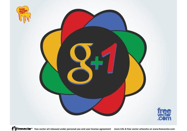 Google Plus Icon Vector Free Download