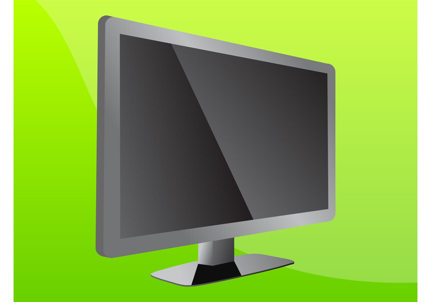 Flat Screen TV  Download Free Vector Art Stock Graphics