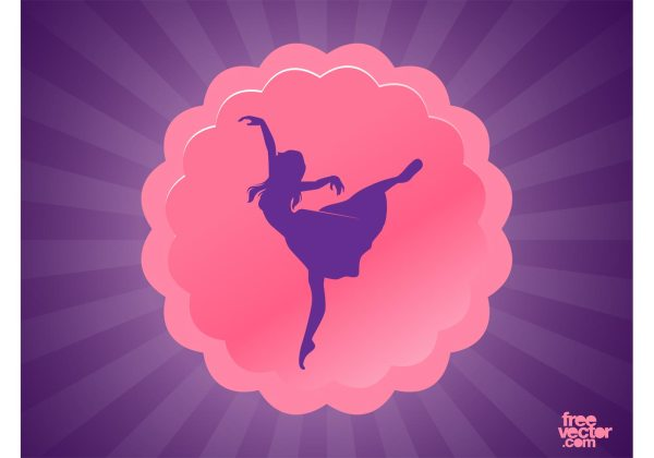 Dance Logo Free Vector Art - 7481