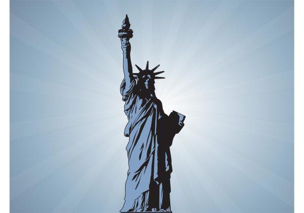 Statue Of Liberty Vector Download Free Vector Art Stock