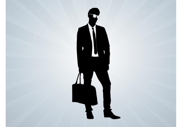 Male Model Vector - Free Art Stock Graphics &