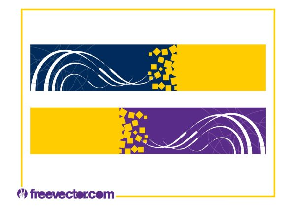 Free Vector Abstract Banners