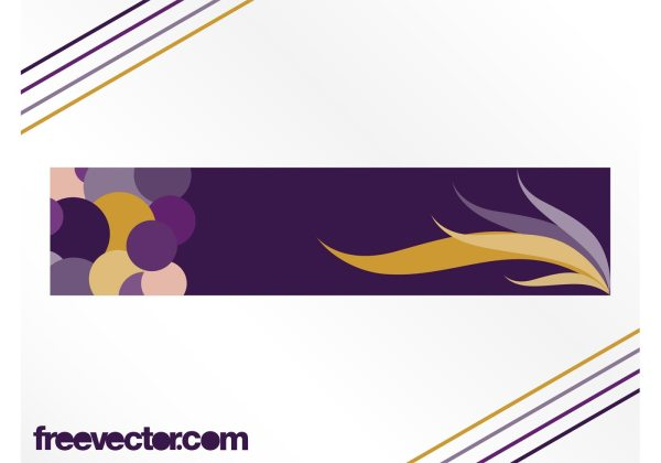 Abstract Vector Banner - Free Art Stock