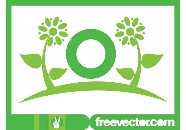 Flowers Logo Template - Free Vector Art Stock