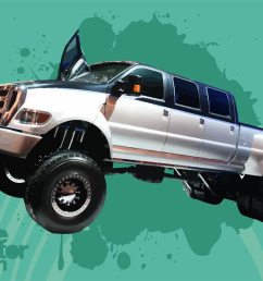 ford f650 super duty truck download free vector art stock graphics images [ 1400 x 980 Pixel ]
