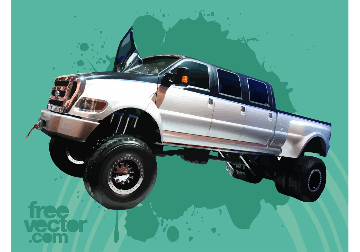 hight resolution of ford f650 super duty truck download free vector art stock graphics images