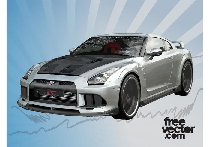race car vector download