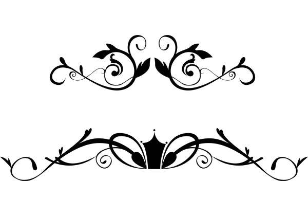 Free Floral Ornamental Border Vectors Download Free
