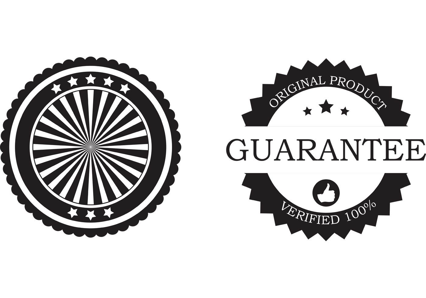Free Business Badge Vectors