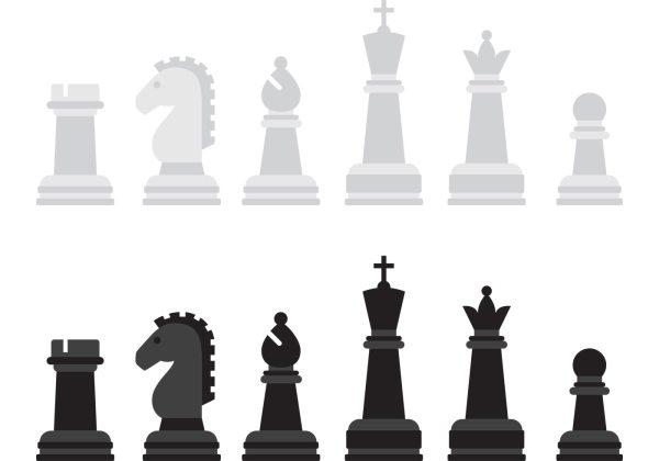 Chess Pieces Vector Art