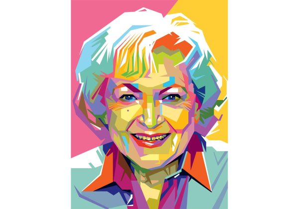 Free Betty White Vector - Art Stock