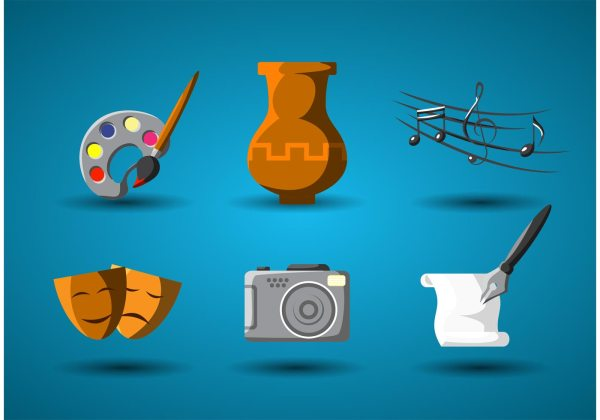 Art And Culture Vector Icon - Free Stock Graphics &