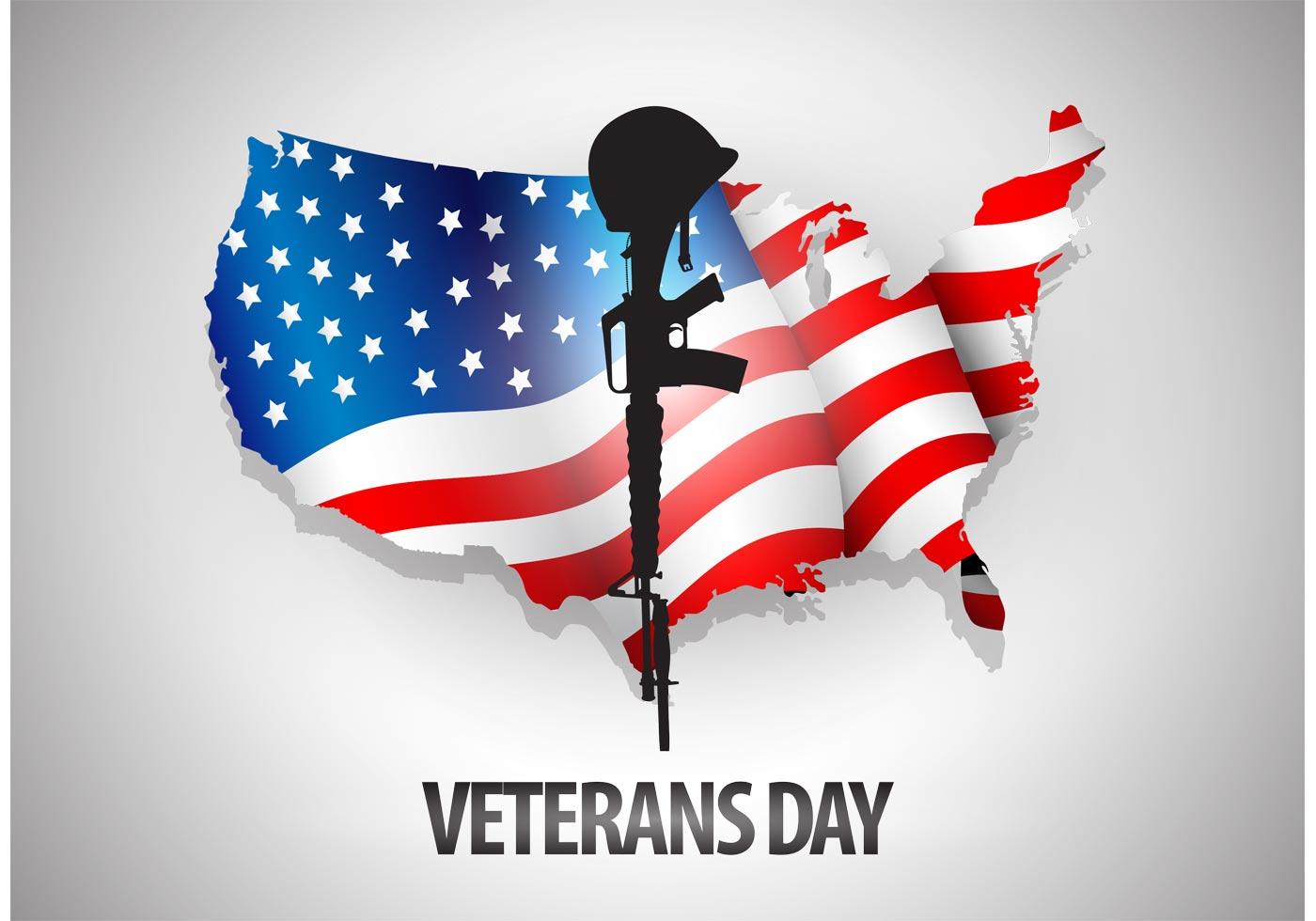 Veteran S Day Vector Background