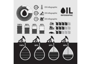 Oil Infographic Vector  Download Free Vector Art, Stock