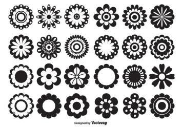Vector Flower Shapes Download Free Vectors Clipart Graphics & Vector Art