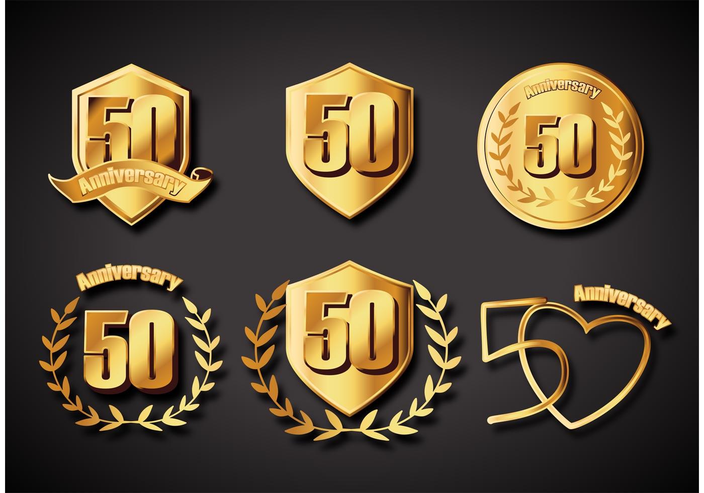 gold badge vector