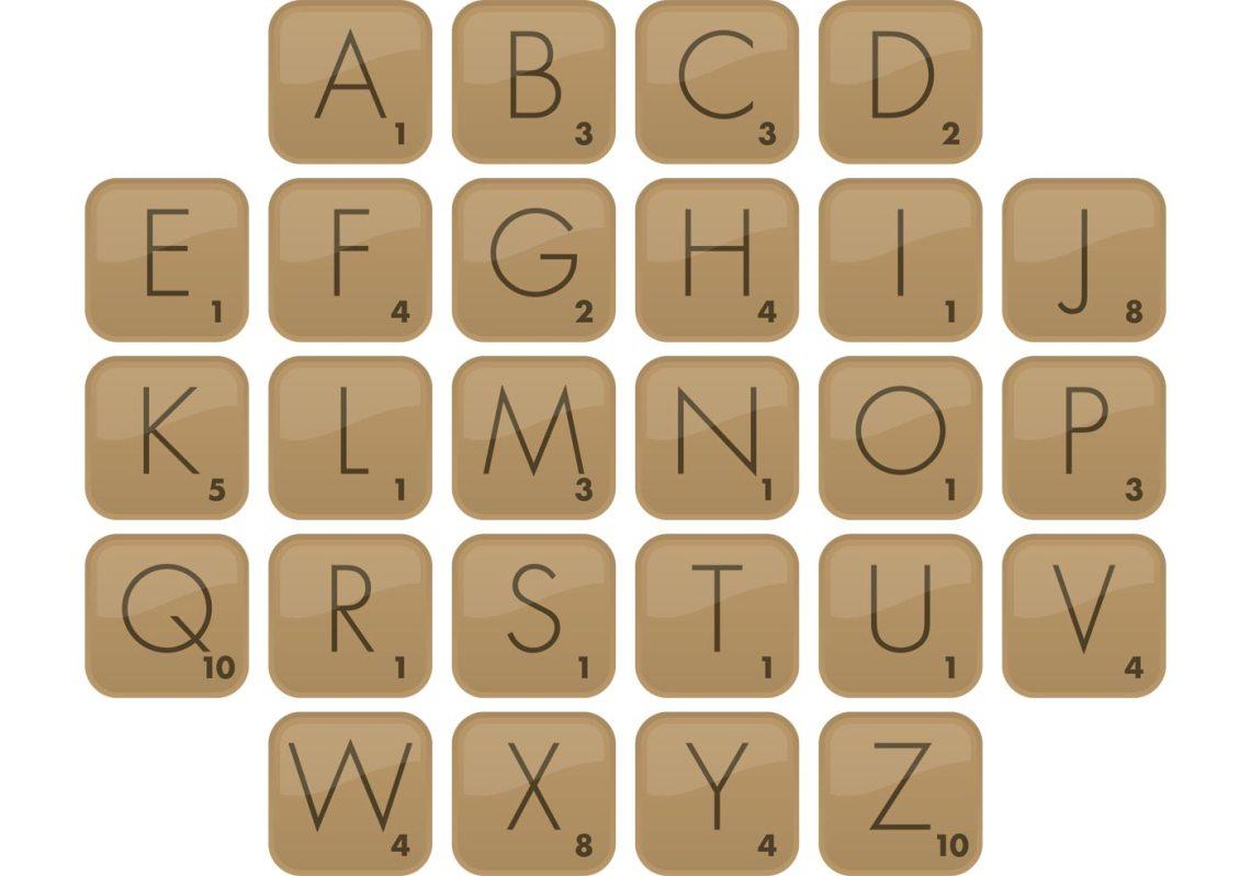 Download Scrabble Font Vector Type - Download Free Vector Art ...