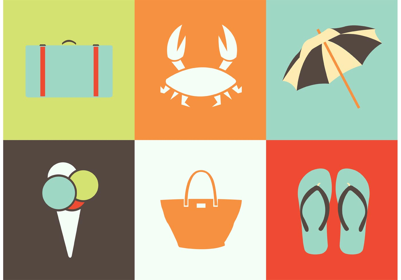 flip flop chair monogrammed childrens summer icon vectors - download free vector art, stock graphics & images