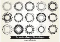 Decorative Circle Shapes - Download Free Vector Art, Stock ...