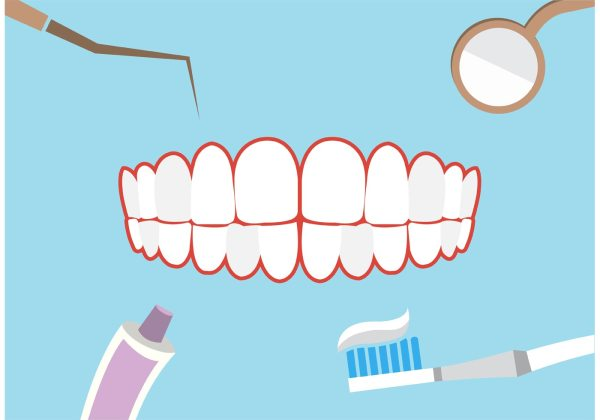 Dental theme background Download Free Vector Art Stock