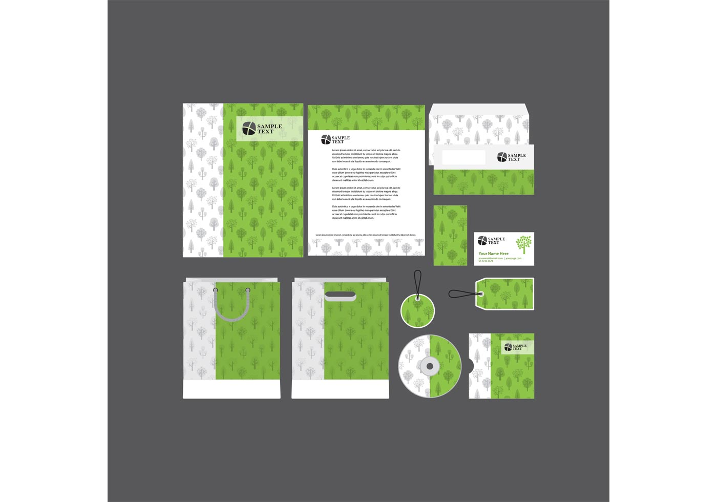 Green Company Profile Template Vector  Download Free Vector Art Stock Graphics  Images