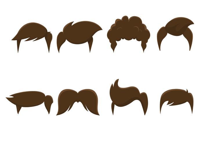 Hair Salon Cartoon Retro Graphics