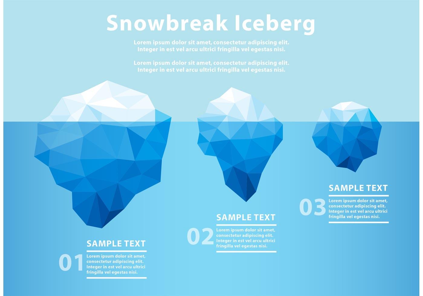 polar bear diagram 2016 dodge ram trailer plug wiring polygonal iceberg underwater - download free vector art, stock graphics & images