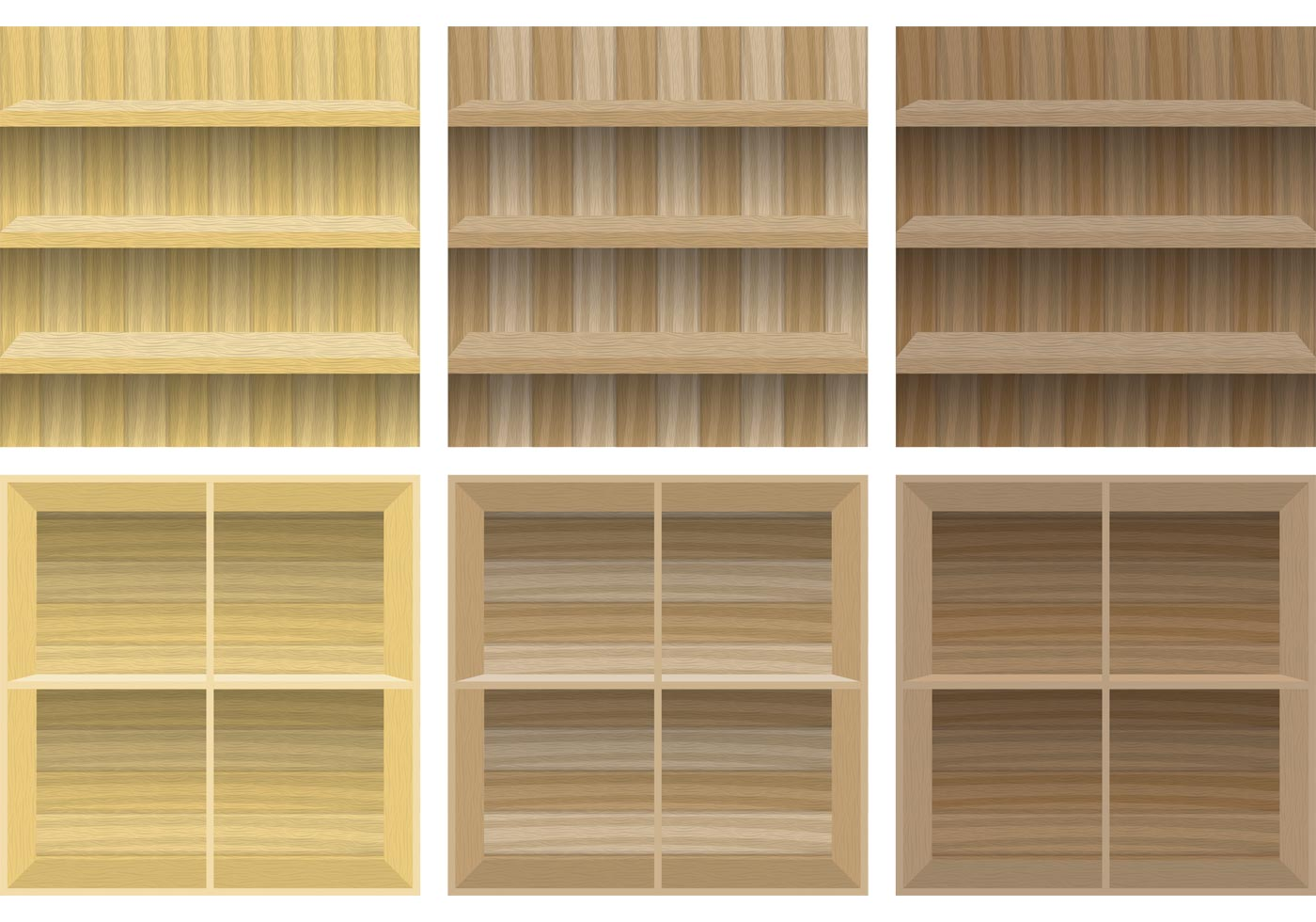 Wooden Shelves  Download Free Vector Art Stock Graphics  Images