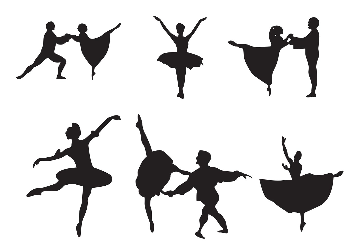 Nutcracker Ballet Free Vector Art