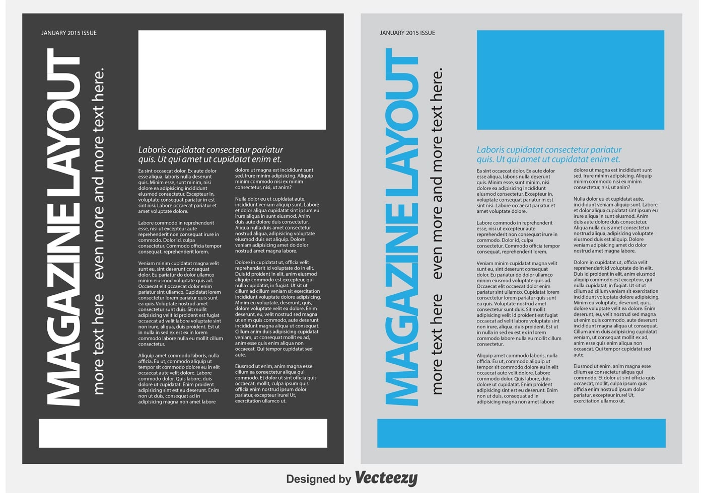 Magazine  News Letter Template  Download Free Vector Art