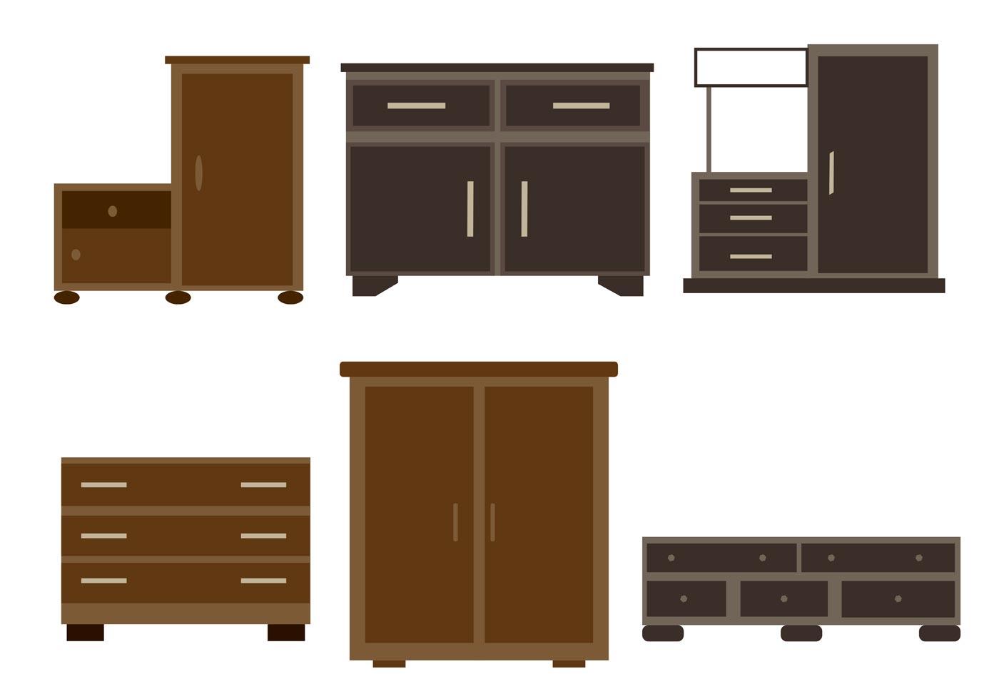 Wooden Furniture Vectors  Download Free Vector Art Stock