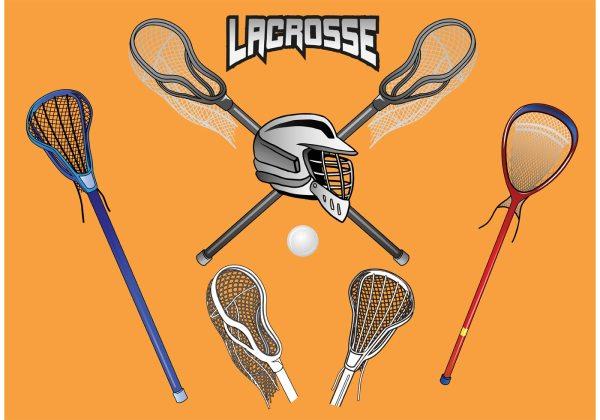 Free Vector Lacrosse Sticks