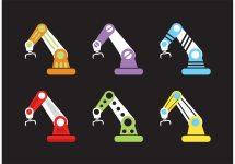 Vector Robotic Arms - Free Art Stock
