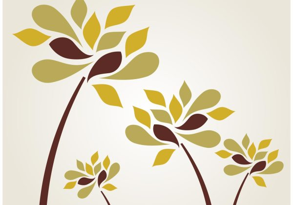 Stylized Flower Vectors Download Free Vector Art Stock