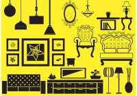 Antique and Modern Furniture Vector - Download Free Vector ...