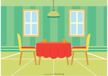 Interior Of Restaurant Vector Download Free Vectors Clipart Graphics & Vector Art