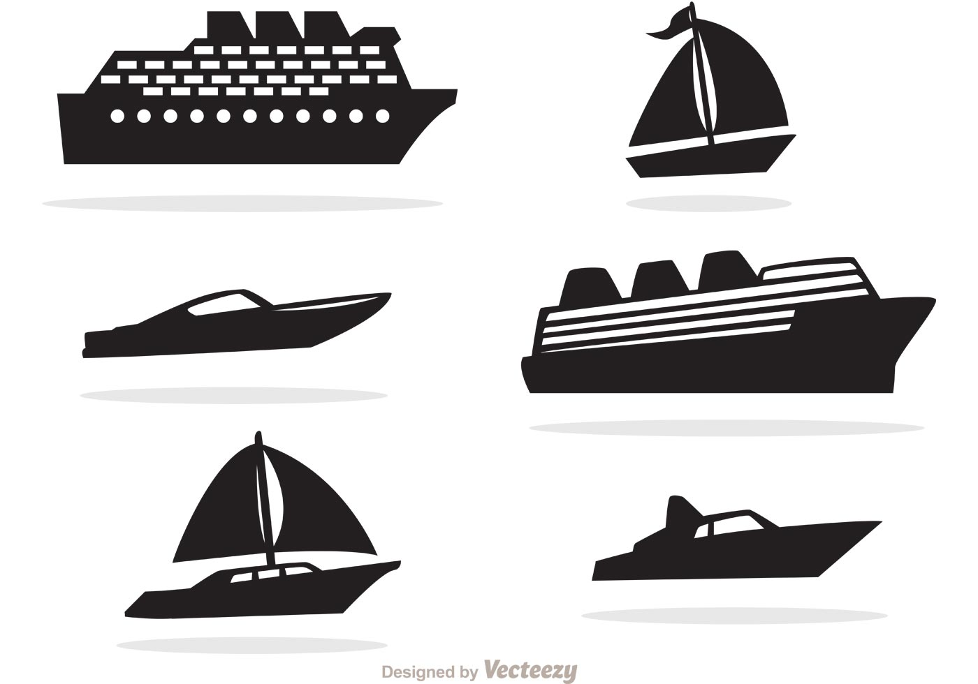 Boat Free Vector Art